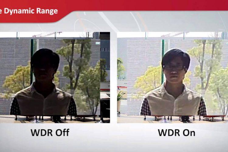 Recurso WDR Cameras Hikvision